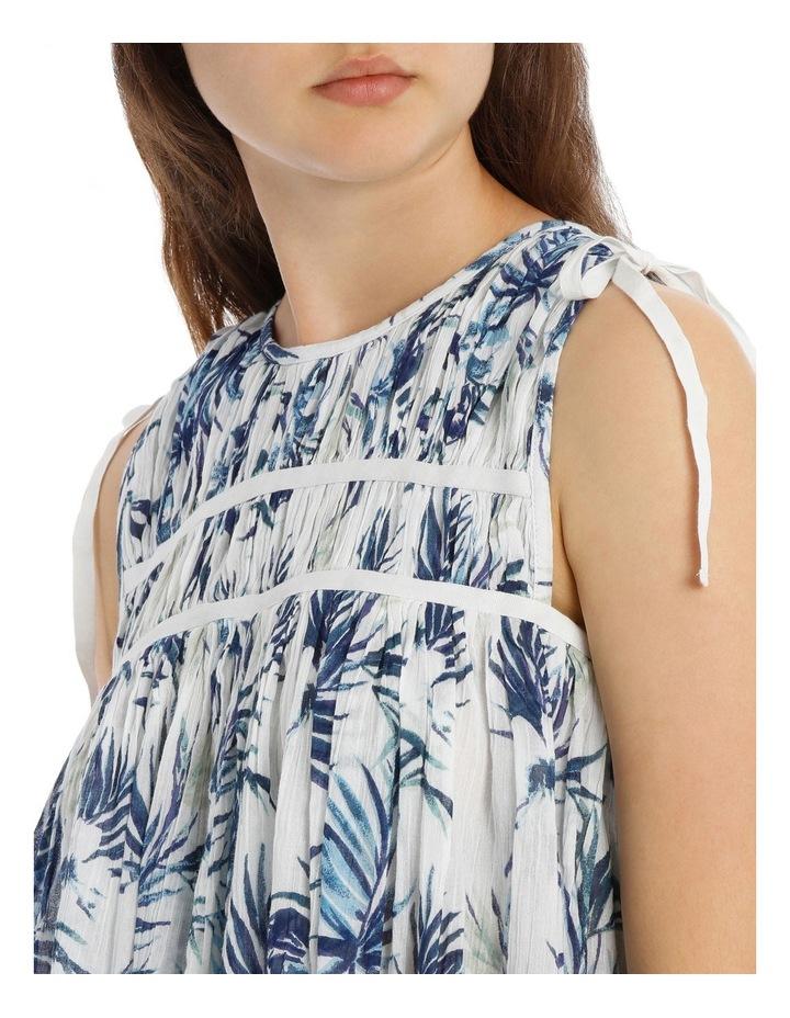 Tropical Tie shoulder Top image 4