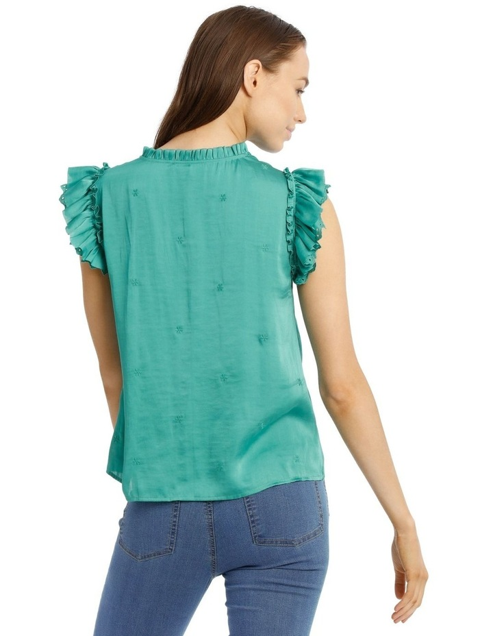 Embroidered Short Sleeve Top image 3