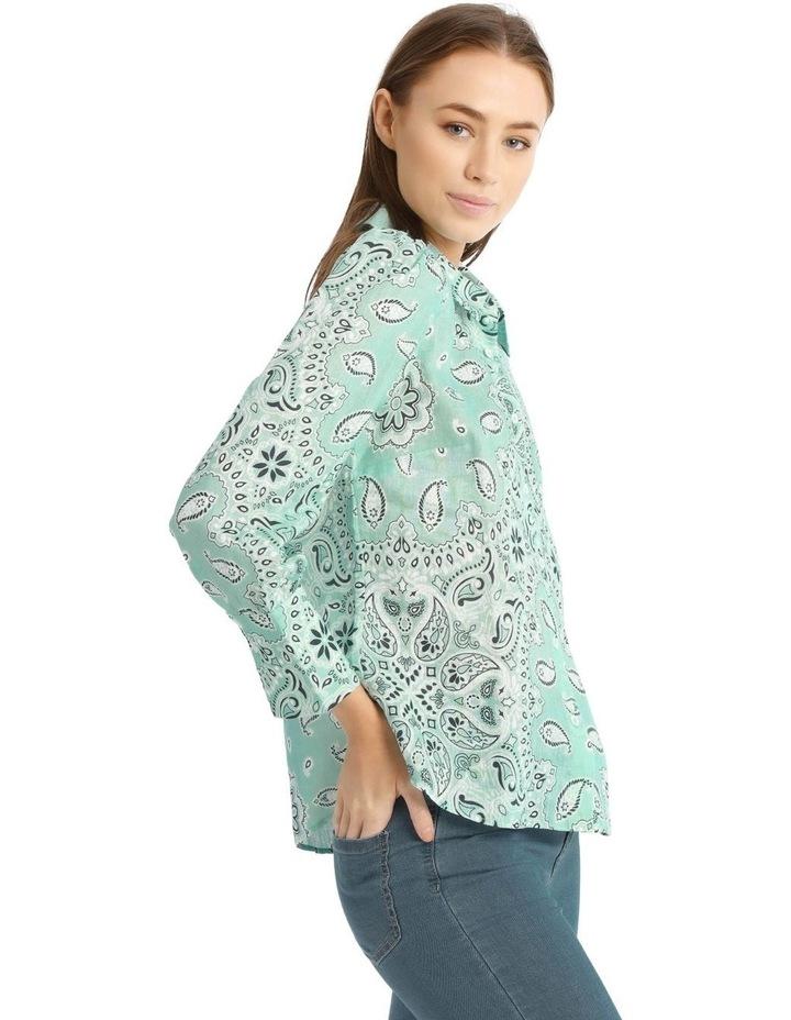 Printed Bandana Shirt image 2