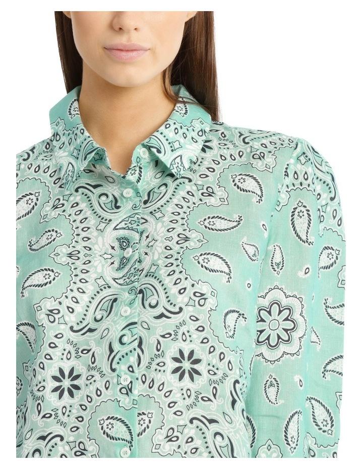 Printed Bandana Shirt image 4