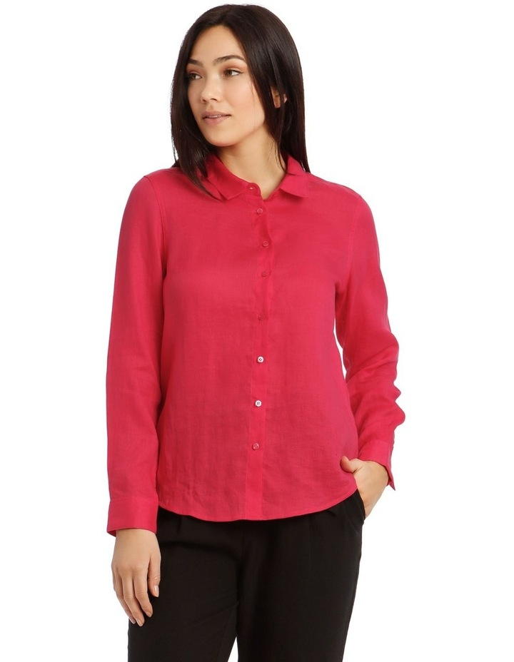 Long Sleeve Linen Shirt image 1