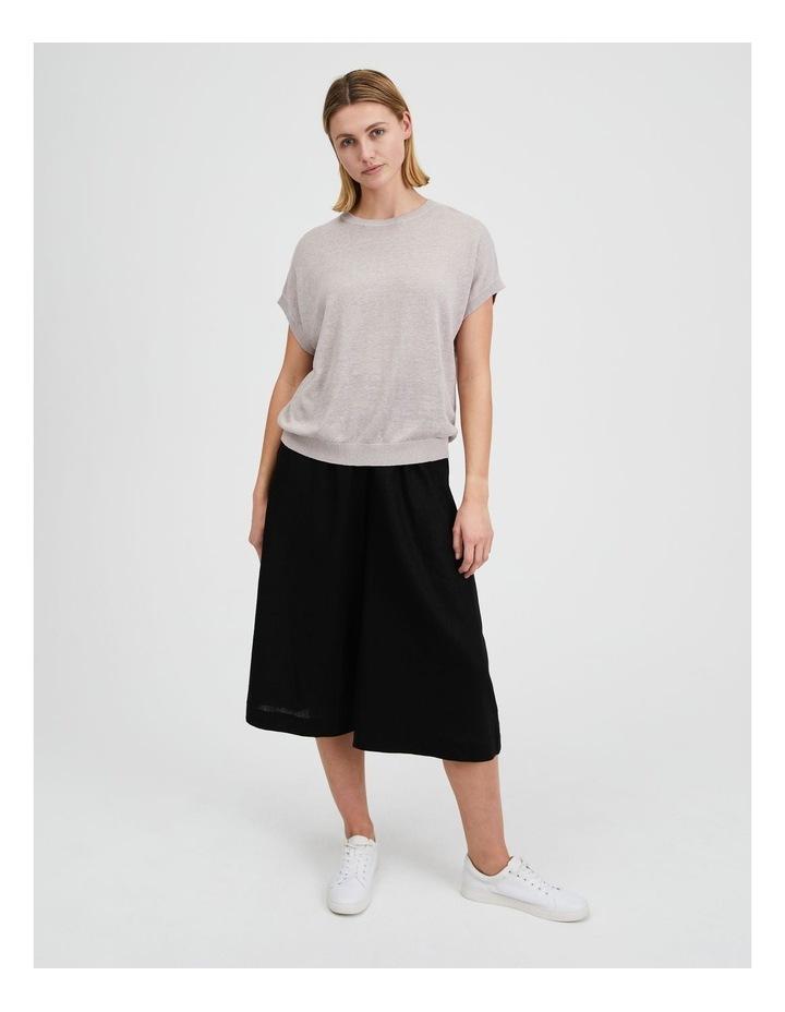 Lightweight Linen Knit Top image 2
