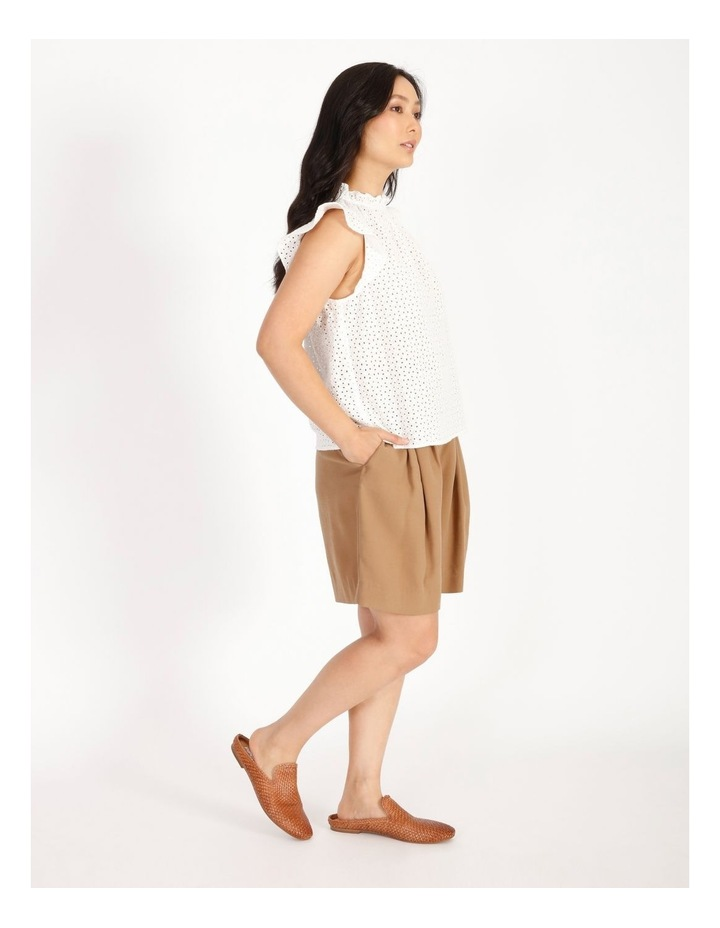 High Neck Broderie Top image 2