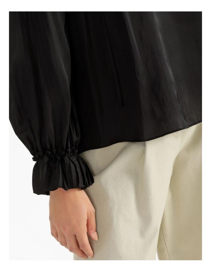 Long Sleeve Satin Blouse image 6