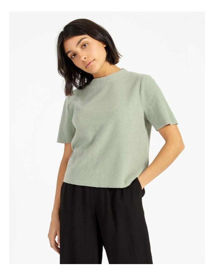 Short Sleeve Thick Rib Tee image 1