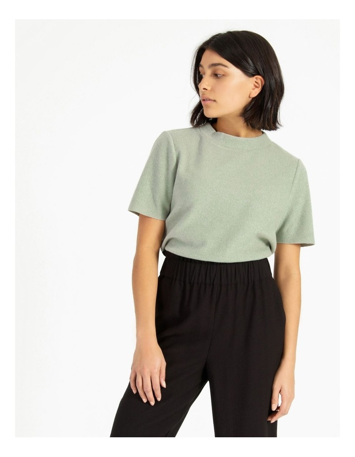Short Sleeve Thick Rib Tee image 3