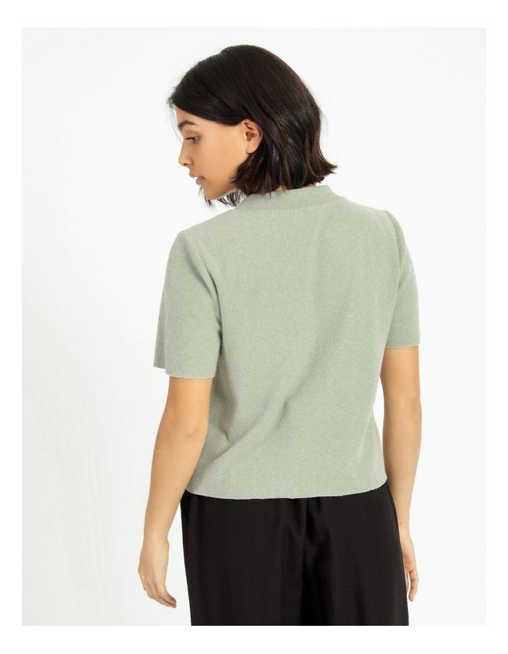 Short Sleeve Thick Rib Tee image 5