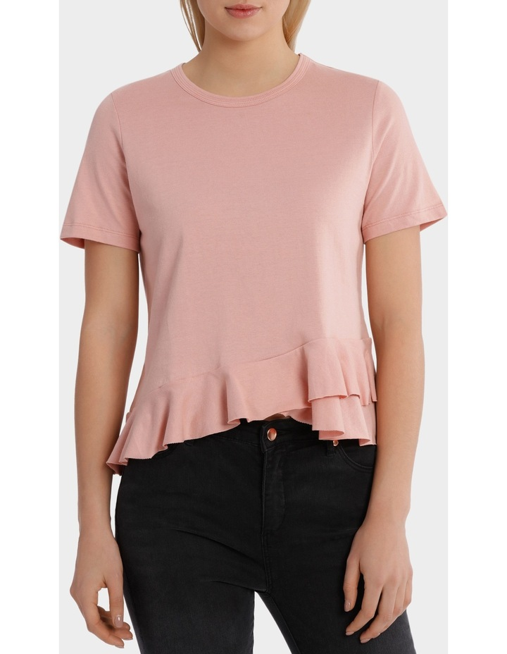 Tee with Ruffle Details image 1