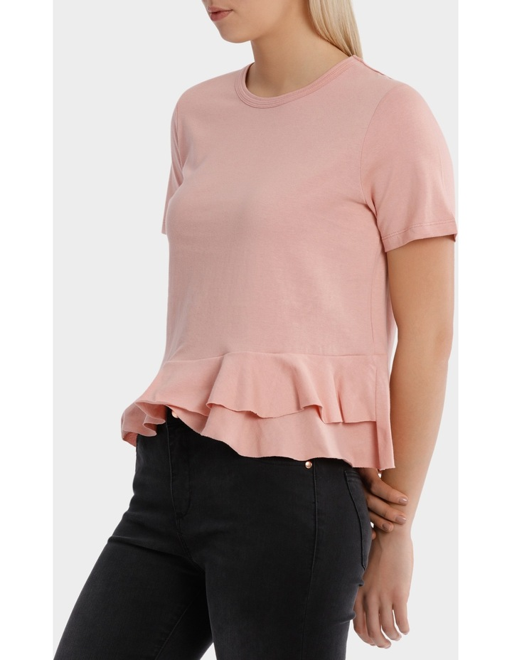 Tee with Ruffle Details image 2