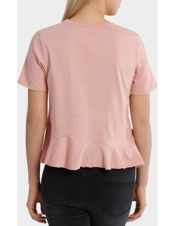 Tee with Ruffle Details image 3
