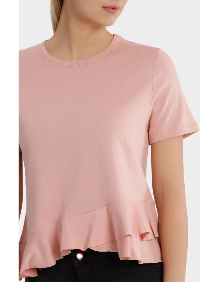 Tee with Ruffle Details image 4