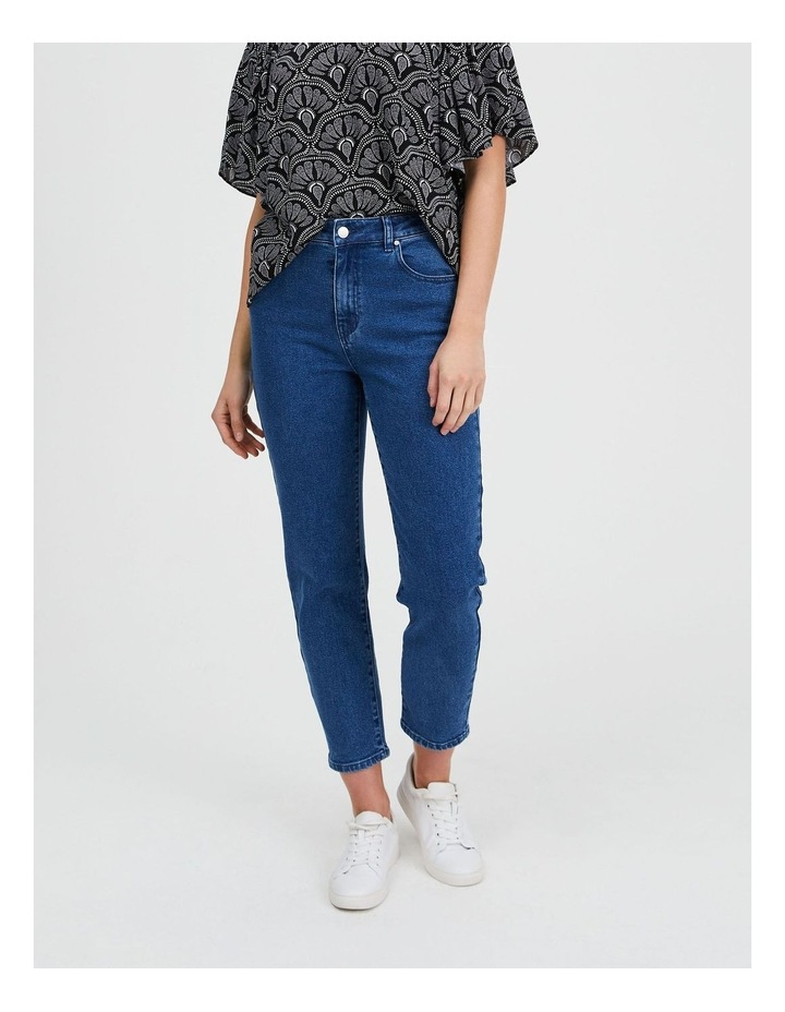 Slim Leg Denim Jean image 1