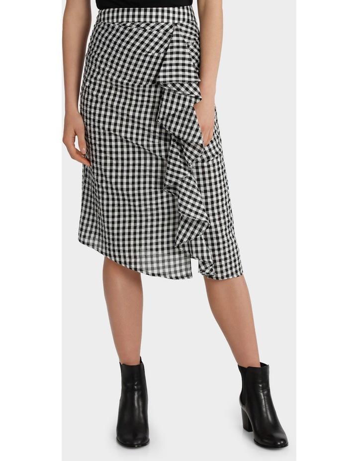 Ruffle Gingham Skirt image 1