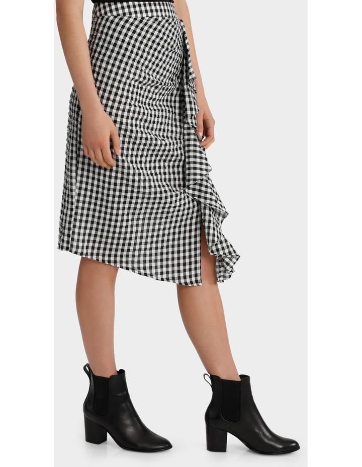 Ruffle Gingham Skirt image 2
