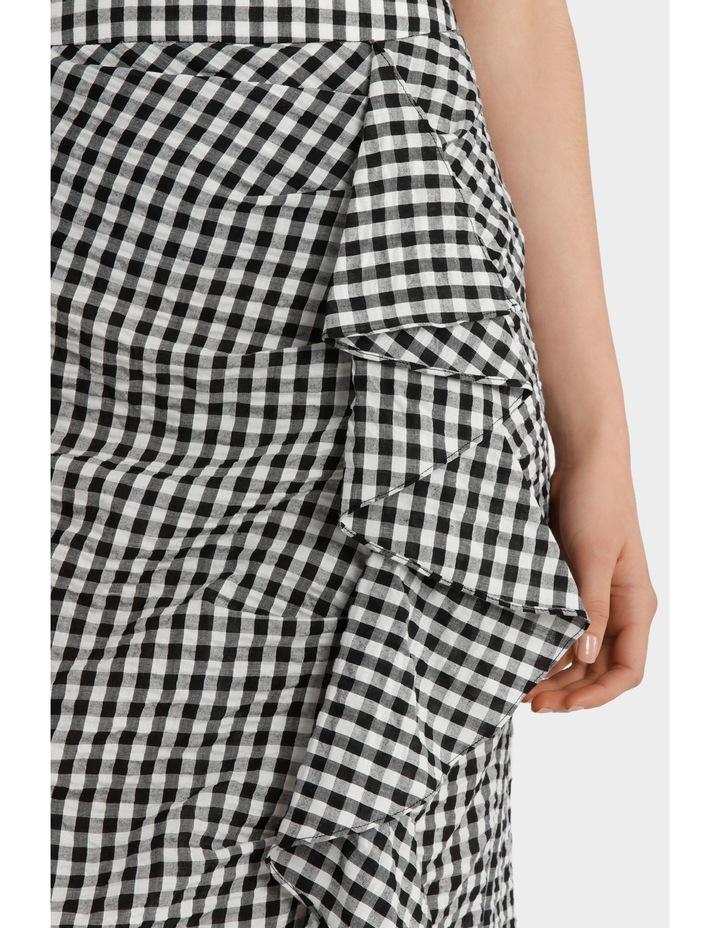 Ruffle Gingham Skirt image 4