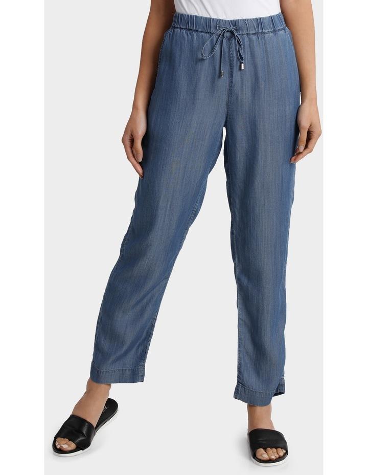 Tencel Pant with Straight Leg image 1