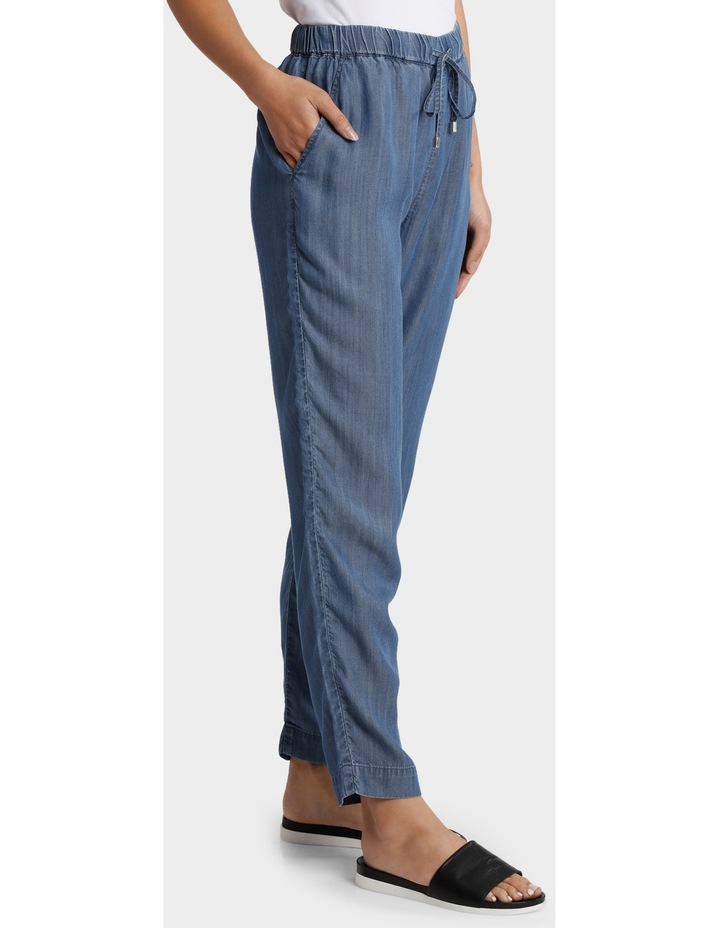 Tencel Pant with Straight Leg image 2