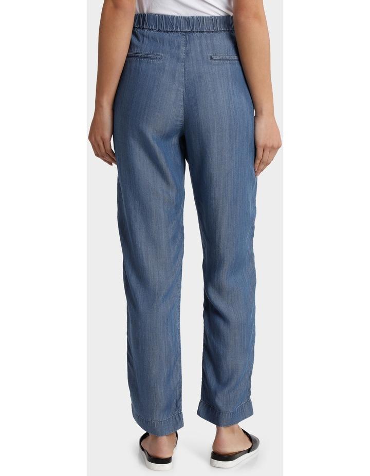 Tencel Pant with Straight Leg image 3