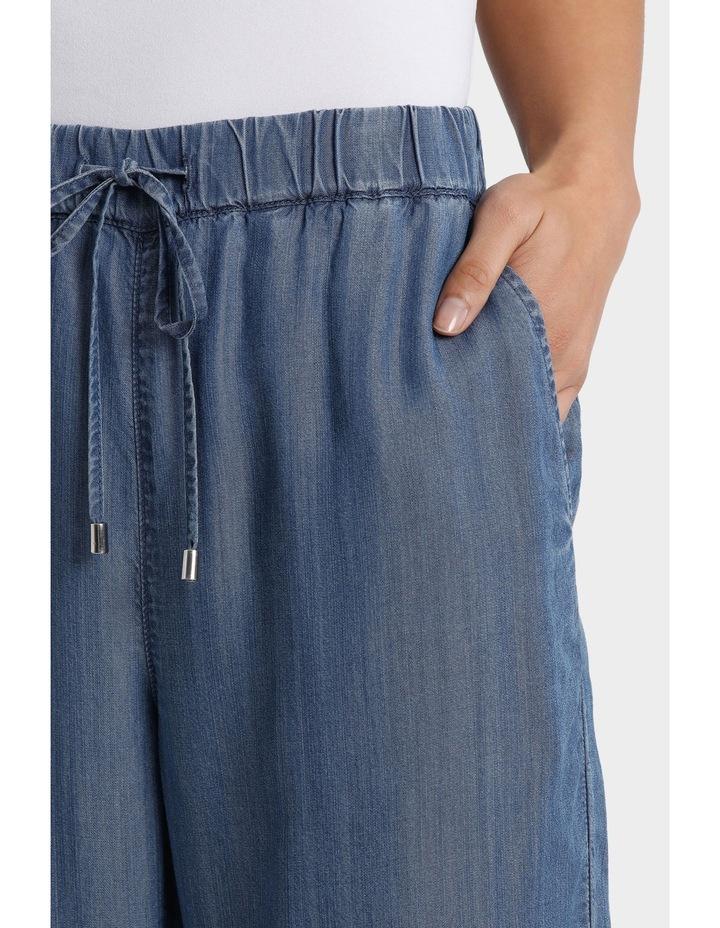 Tencel Pant with Straight Leg image 4