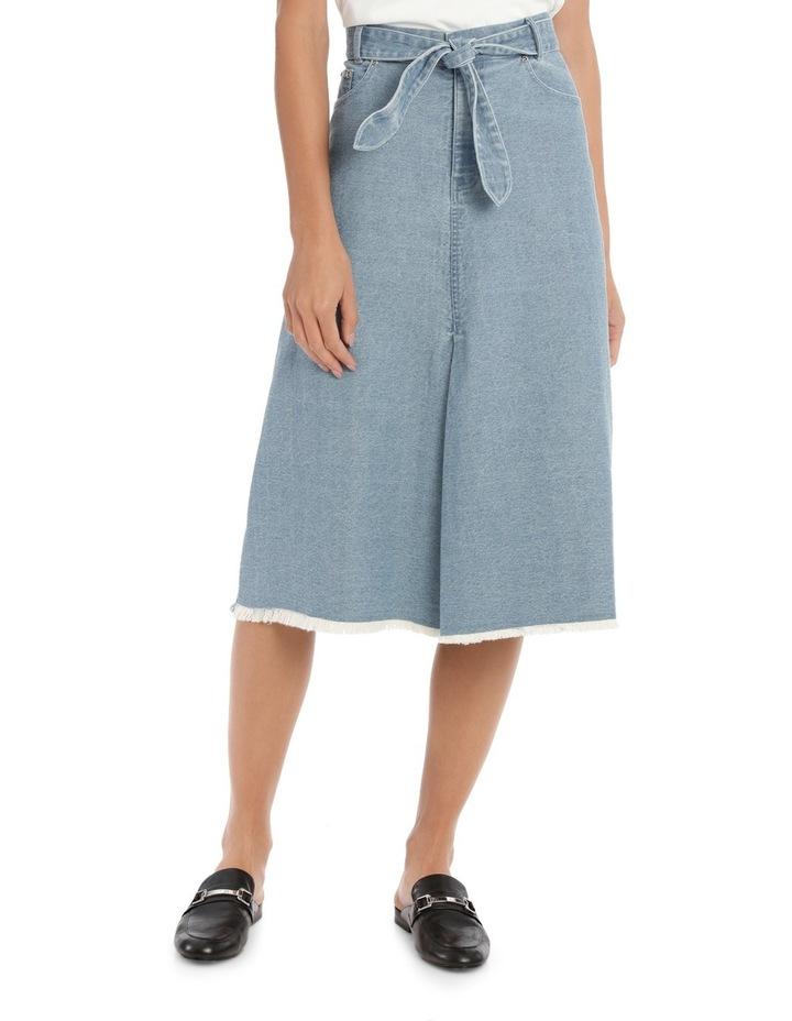 Skirt Denim mid length image 1