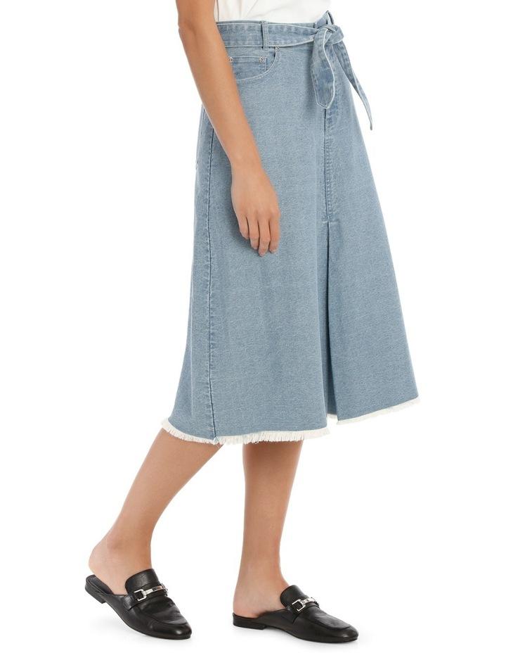 Skirt Denim mid length image 2