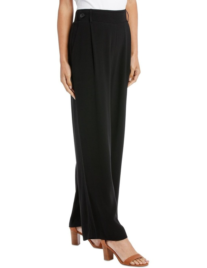 Pant wide leg with button detail image 2