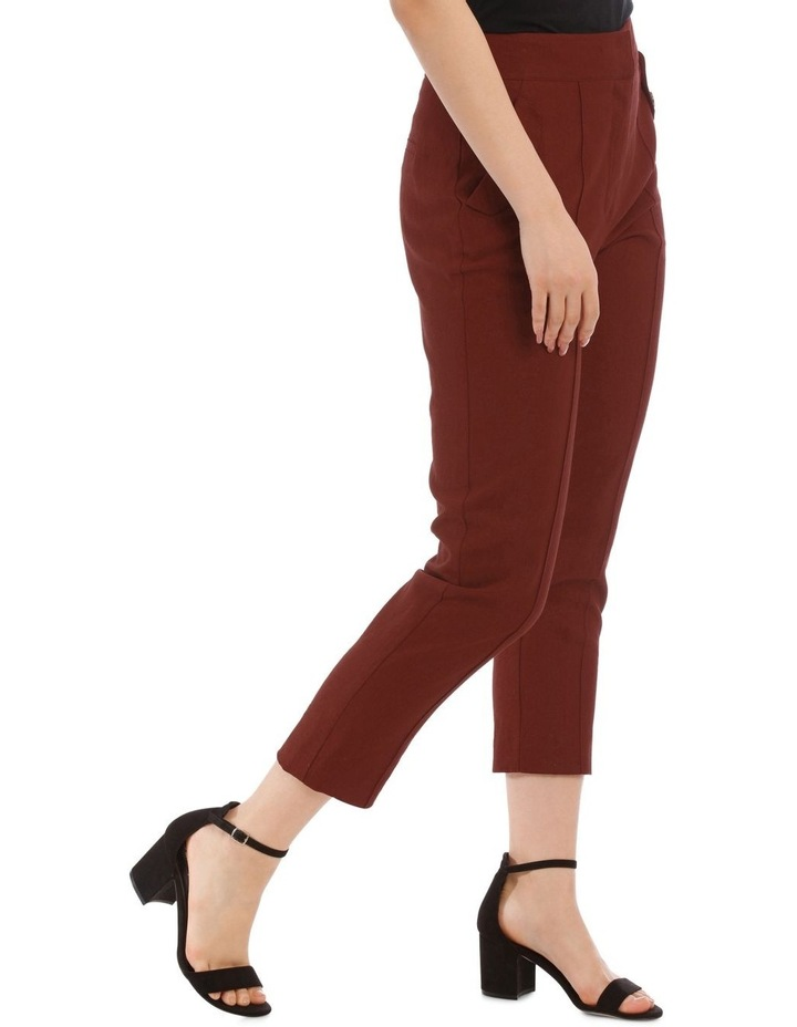 Straight Pant with Buttons image 2