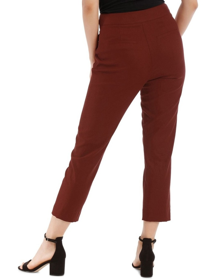 Straight Pant with Buttons image 3