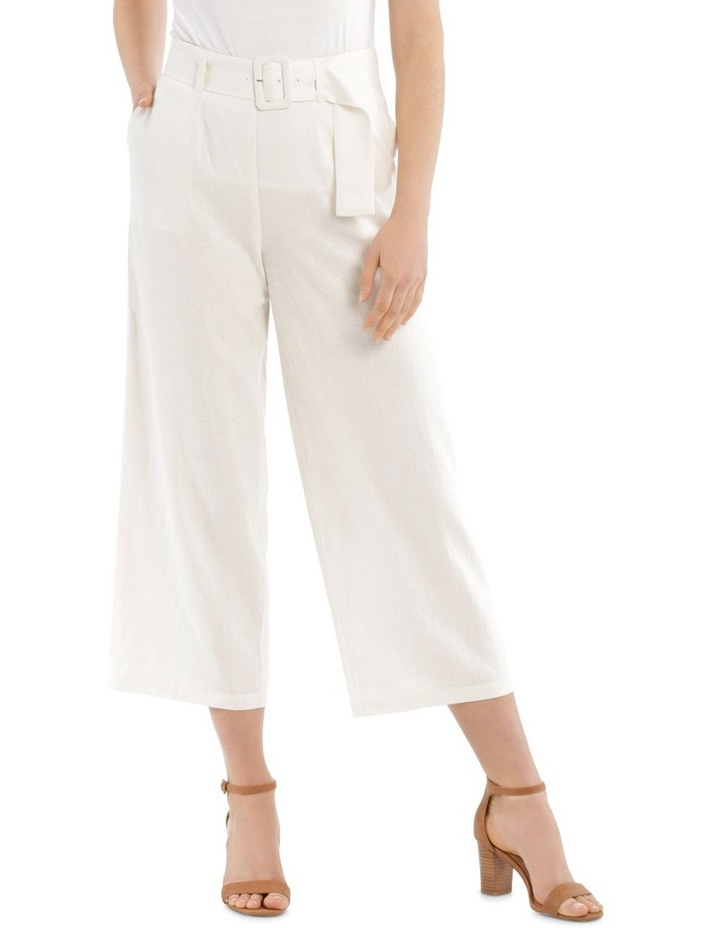 Full Length Pant With Belt And Buckle image 1