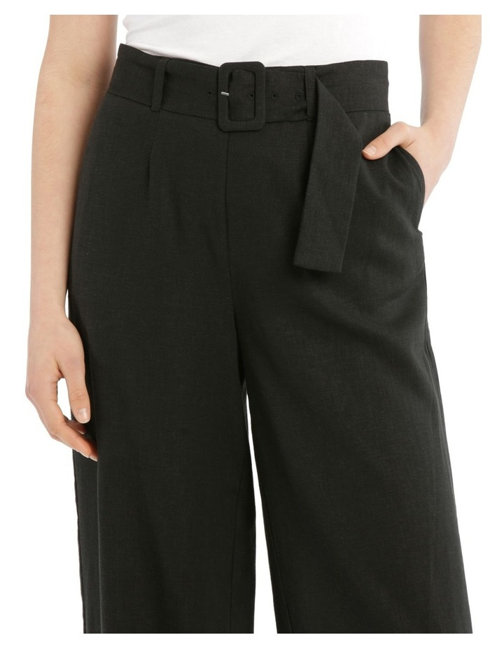 Full Length Pant With Belt And Buckle image 4