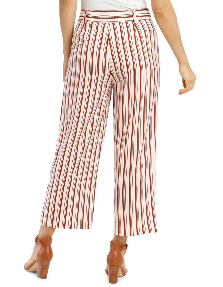 Full Length Straight-Leg Pant With Belt And Buckle image 3