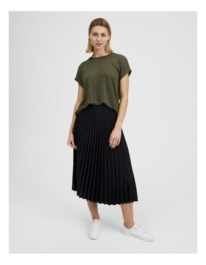 Pleated Midi Skirt image 6