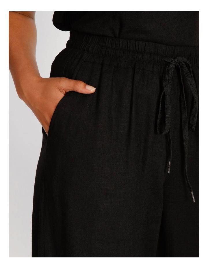 Wide Leg Linen Pant image 5