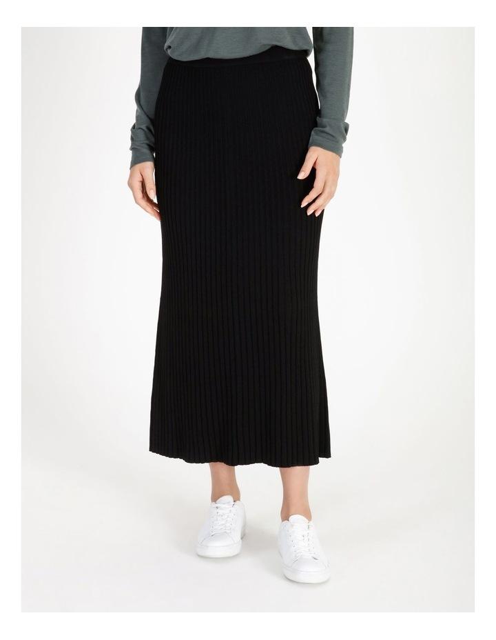 Midi Knit Skirt image 1