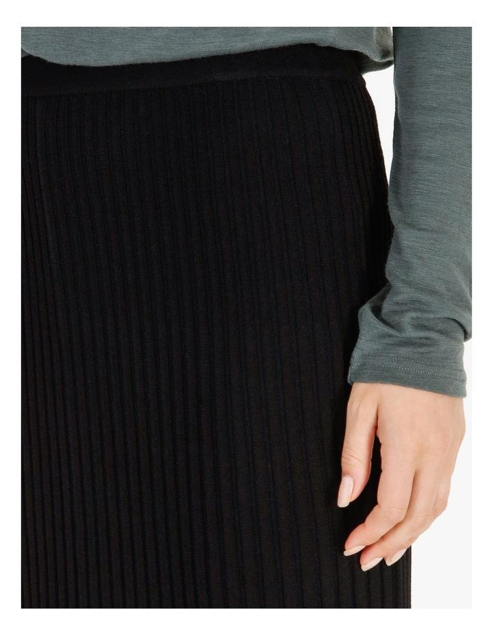 Midi Knit Skirt image 4