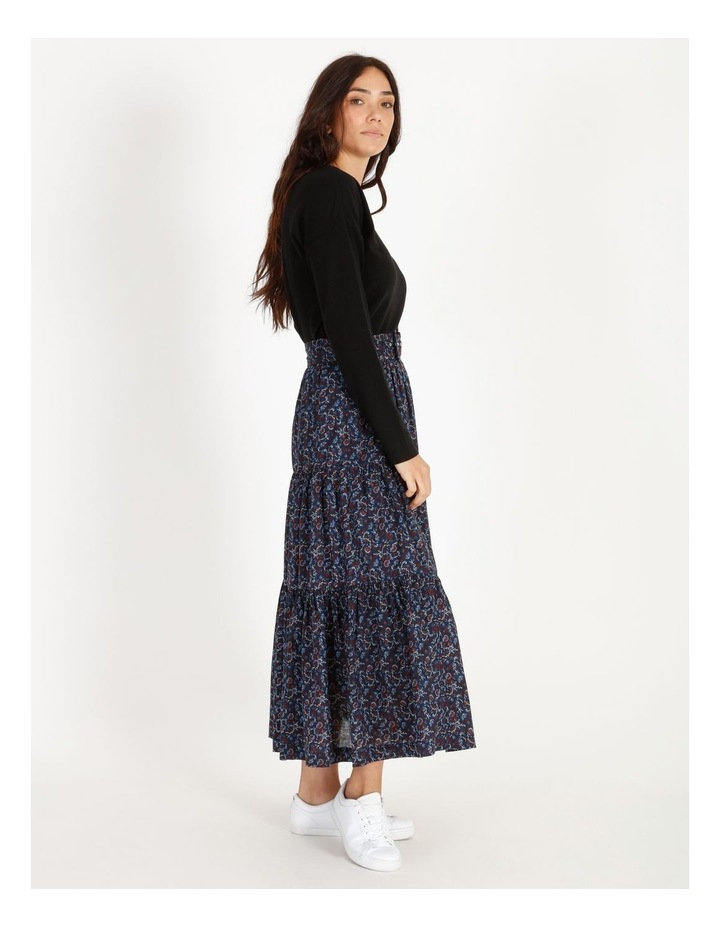 Tiered Belted Skirt image 2