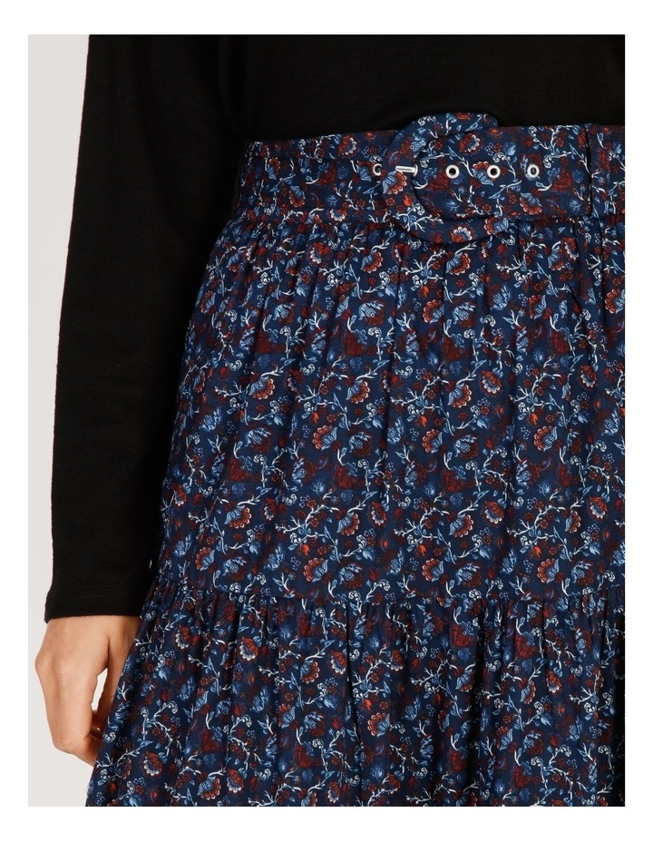 Tiered Belted Skirt image 4