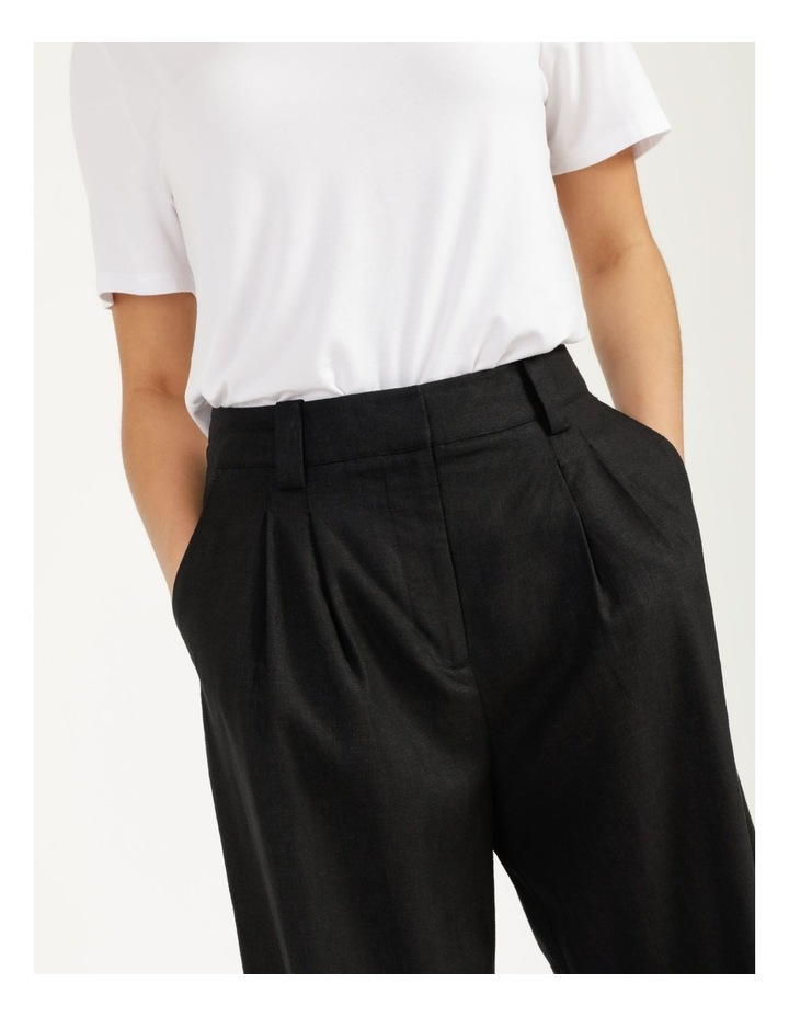 Linen Blend Tailored Pant image 2