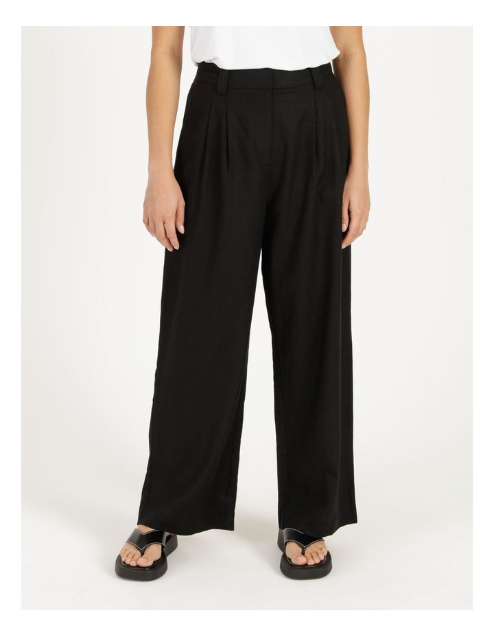 Linen Blend Tailored Pant image 3