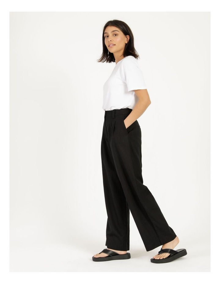 Linen Blend Tailored Pant image 4