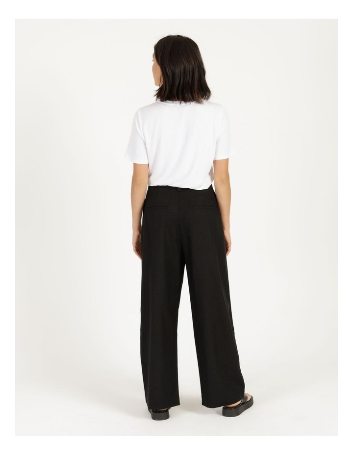 Linen Blend Tailored Pant image 5