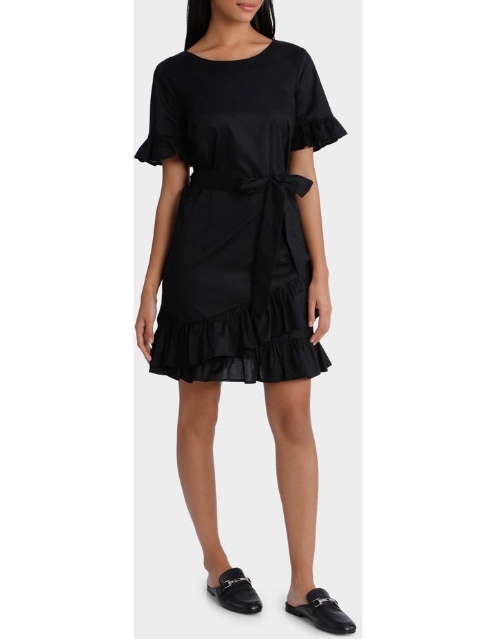 Dress Ruffle 3/4 Sleeve image 2