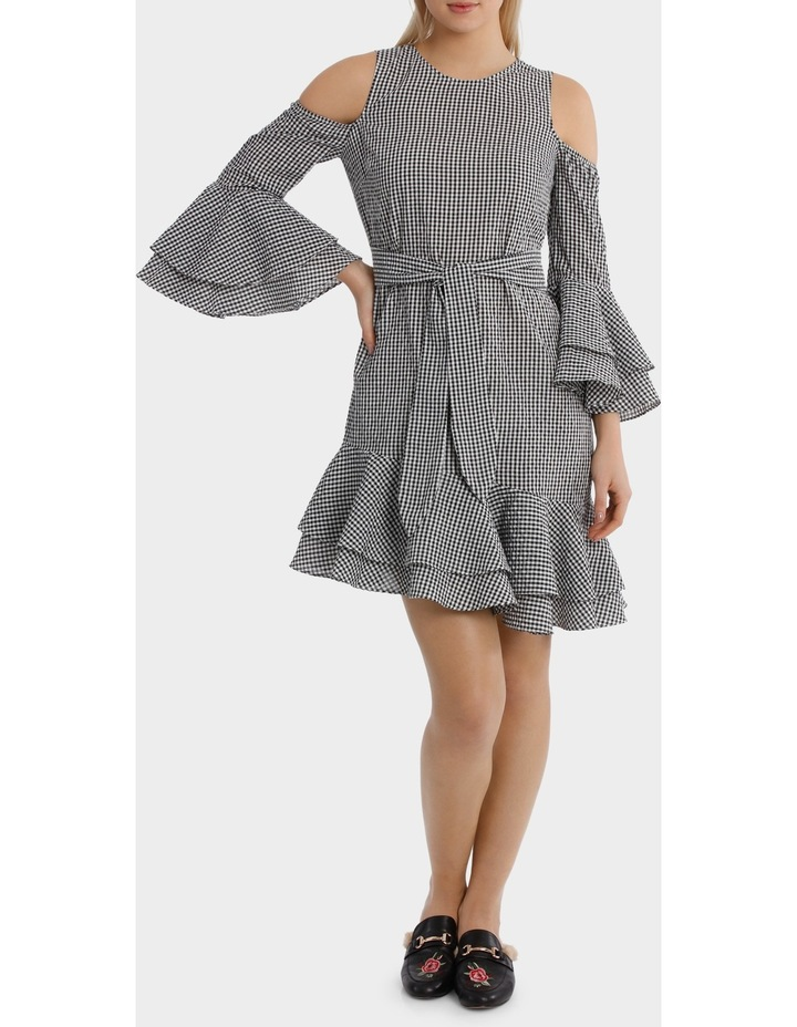 Gingham multi Ruffles Dress image 1