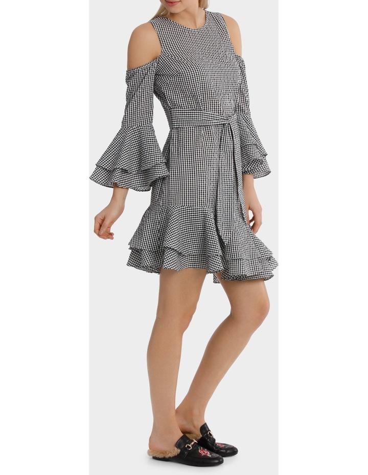 Gingham multi Ruffles Dress image 2