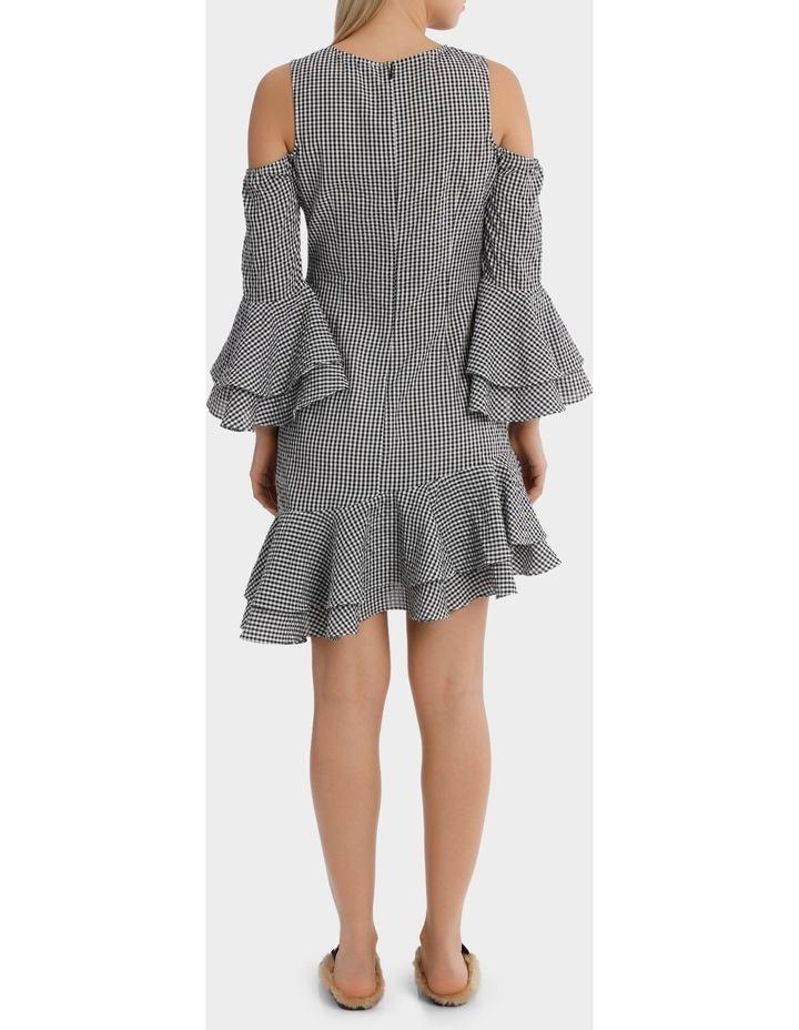 Gingham multi Ruffles Dress image 3