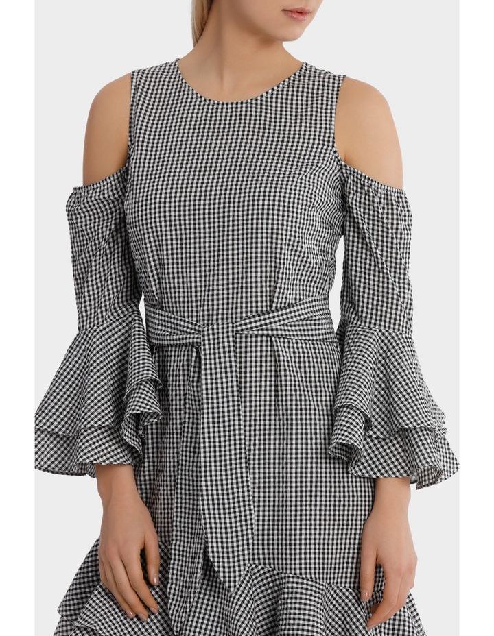 Gingham multi Ruffles Dress image 4