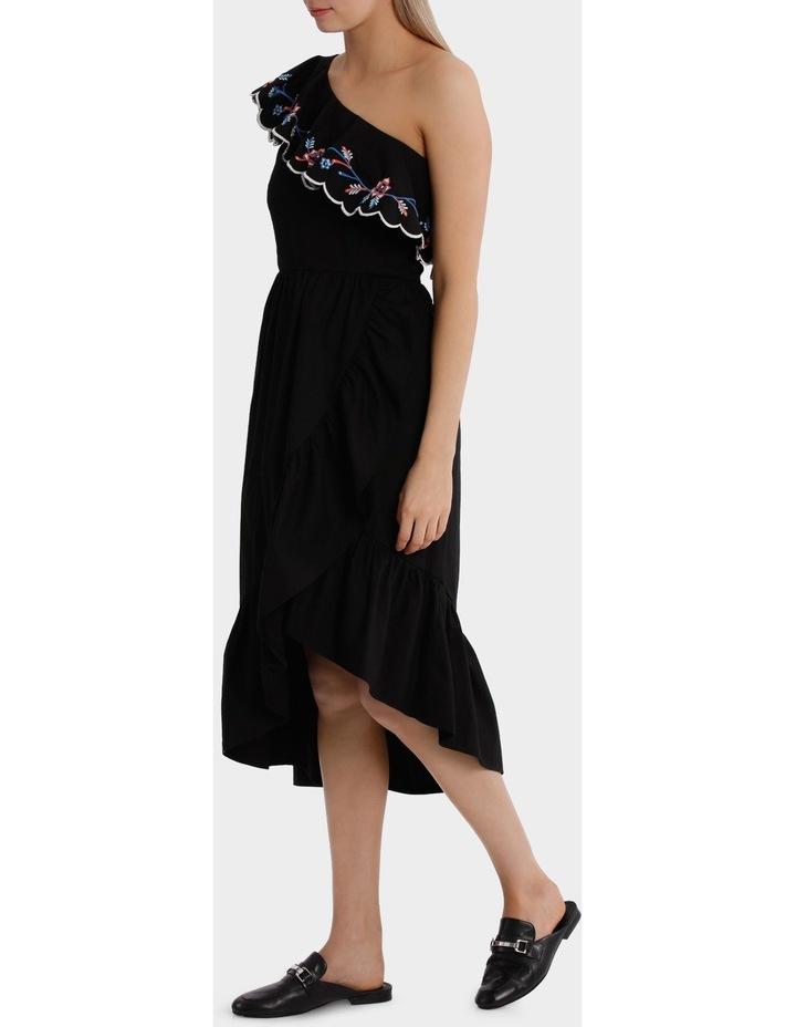 One Shoulder Ruffle Dress image 2