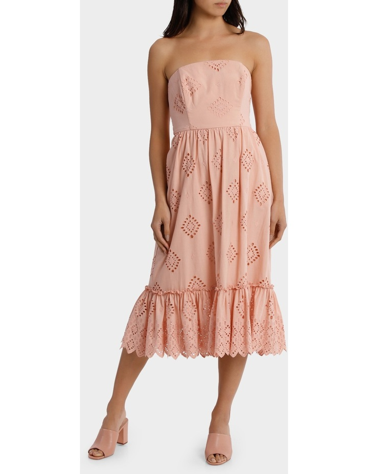 Dress strapless Broiderie image 1