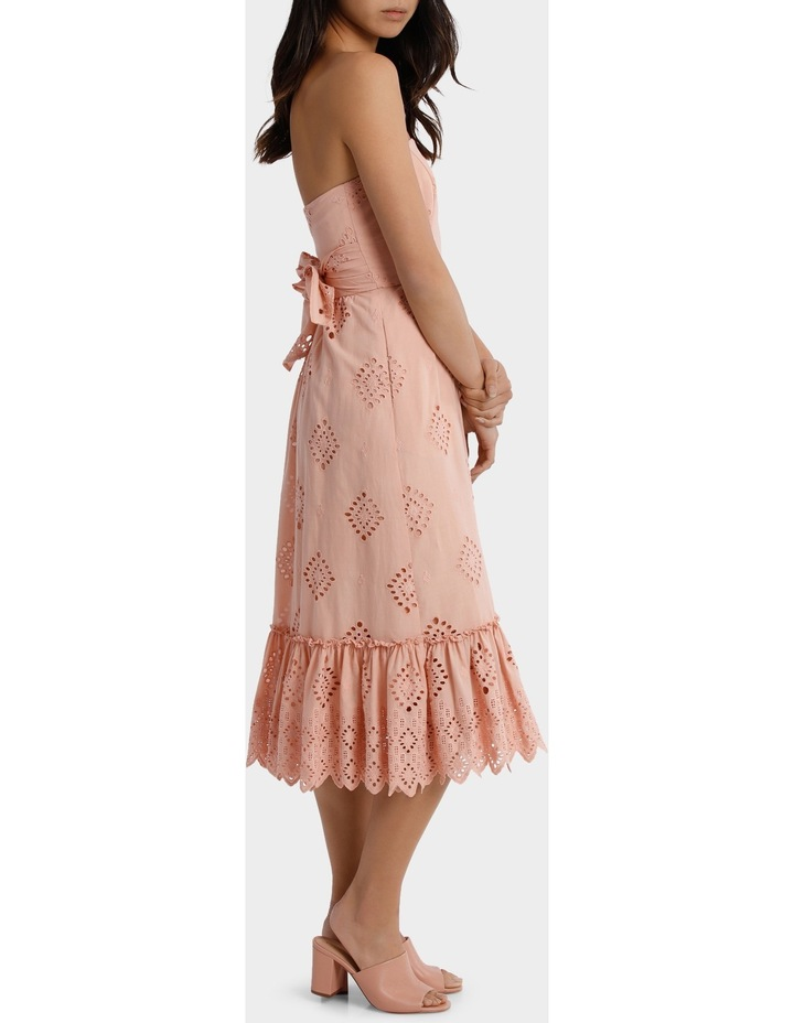 Dress strapless Broiderie image 2