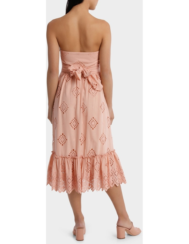 Dress strapless Broiderie image 3